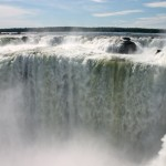 The Iguazu Falls. Staring down the Devil's Throat.