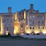 Dalhousie Castle Hotel. Edinburgh, Scotland