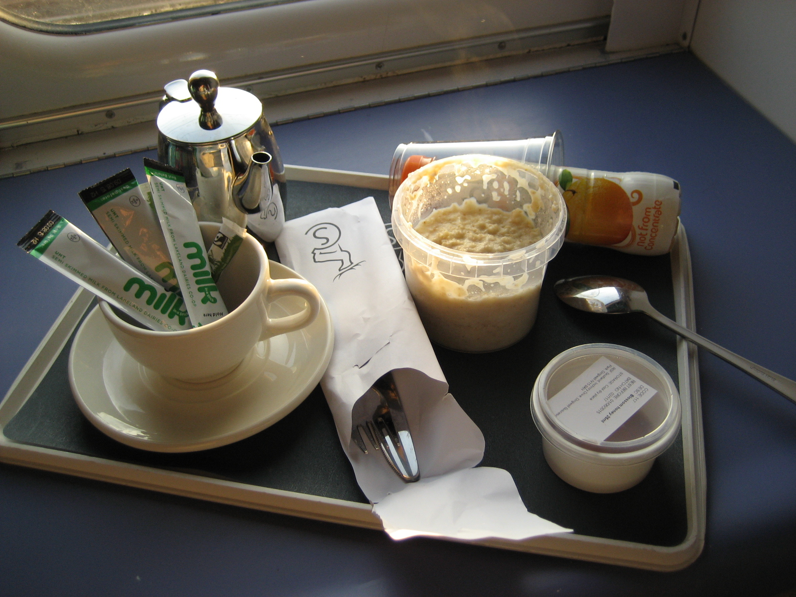 Caledonian Sleeper breakfast & Caledonian Sleeper review by Solange Berchemin | TripReporter islam-shia.org