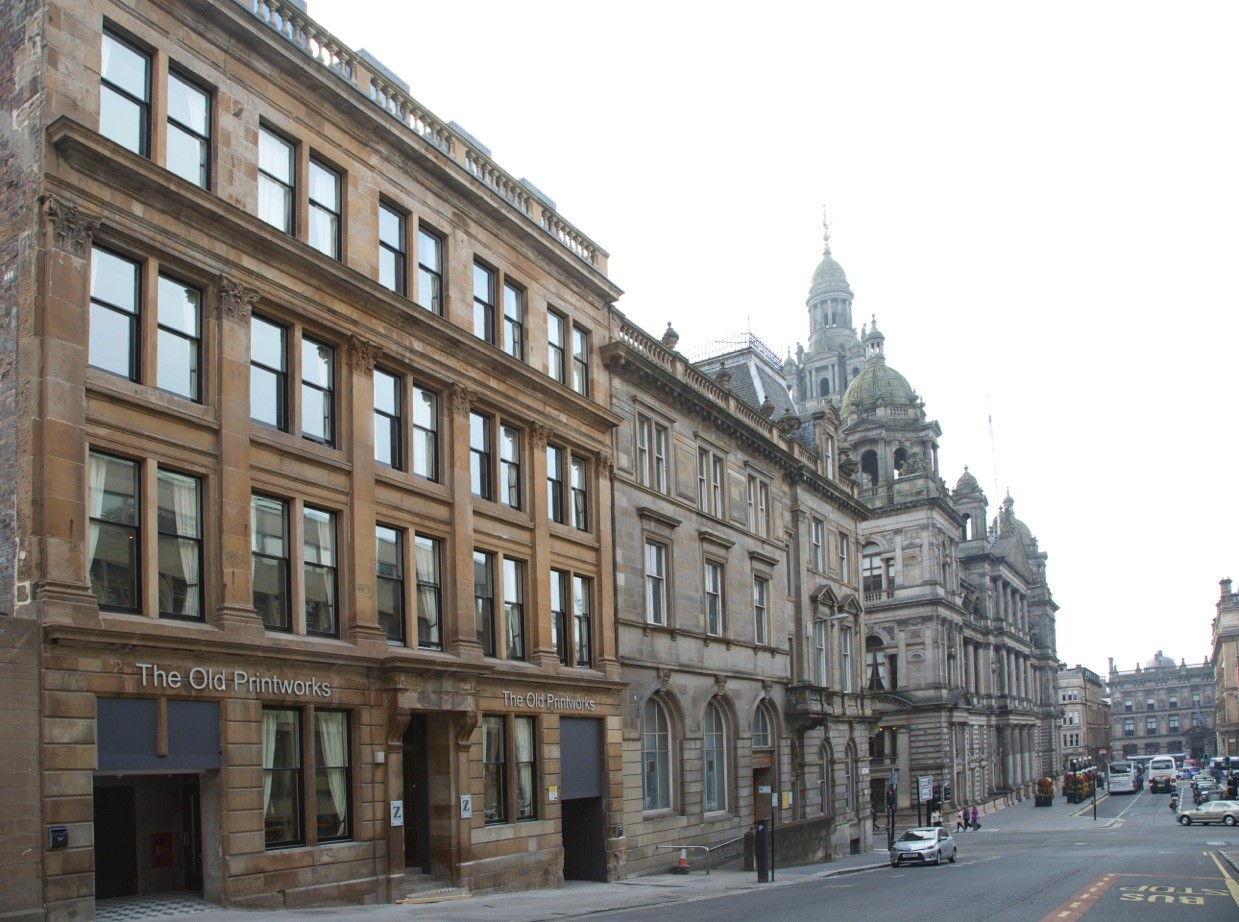 Z hotel glasgow tripreporter for Design hotel glasgow