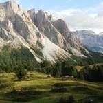 Val Gardena. Summer in The Dolomites.