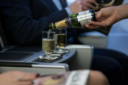 British Airways  New Beer & Champagne on BA Flights in Club Class  Tribute in Club World Castelnau in Club Europe  Picture by: Stuart Bailey / British Airways
