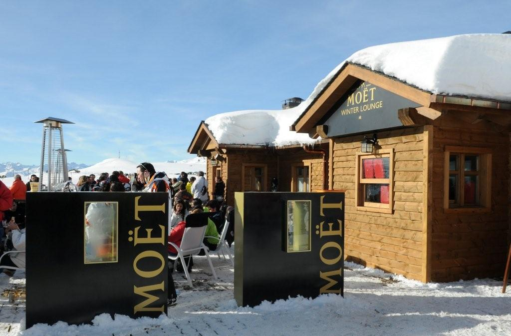 Moet winter Lunch