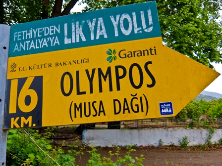 Olympos Sign