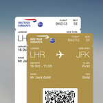 MULTIPLE BOARDING PASSES ON BA APP