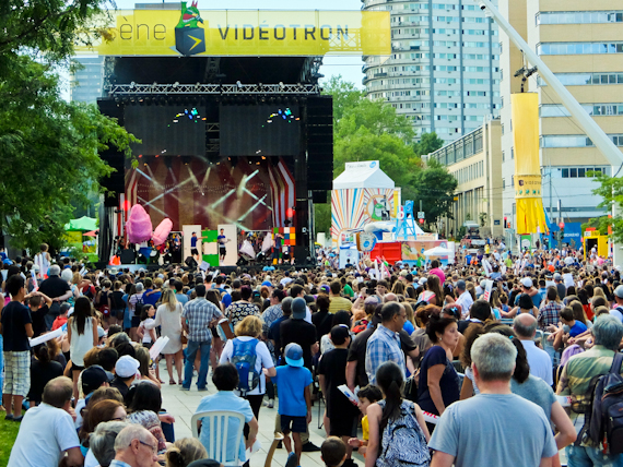 Just for Laughs French Stage