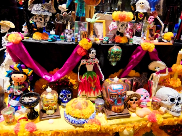 day-of-the-dead-display