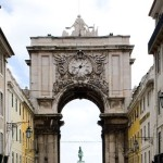 Lisbon Rua Augusta Arch  now open