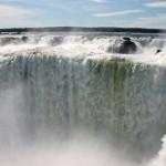 The Iguazu Falls. Staring down the Devil's Throat.