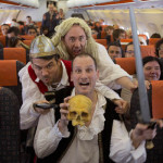 easyJet stages world record Shakespeare performance