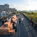 High Line At The Rail Yards Opens