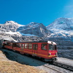 Climbing the Eiger by train