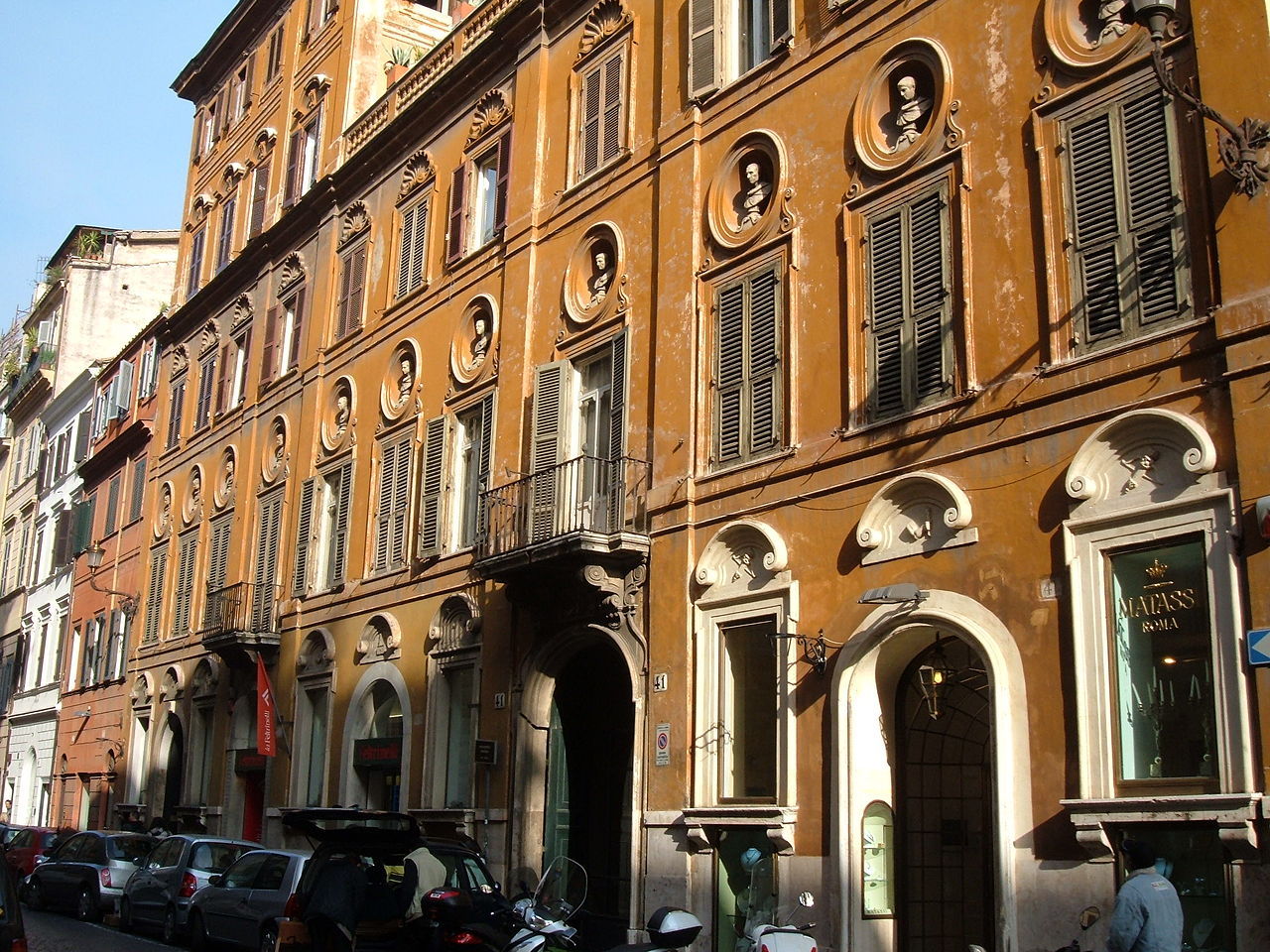 Review my favourite street in rome tripreporter for Hotel via del babuino