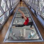 Yoga classes at Tower Bridge
