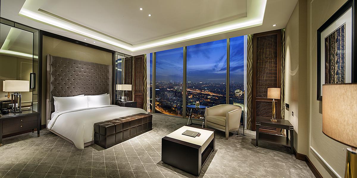 Hilton Istanbul Bomonti Suite Room