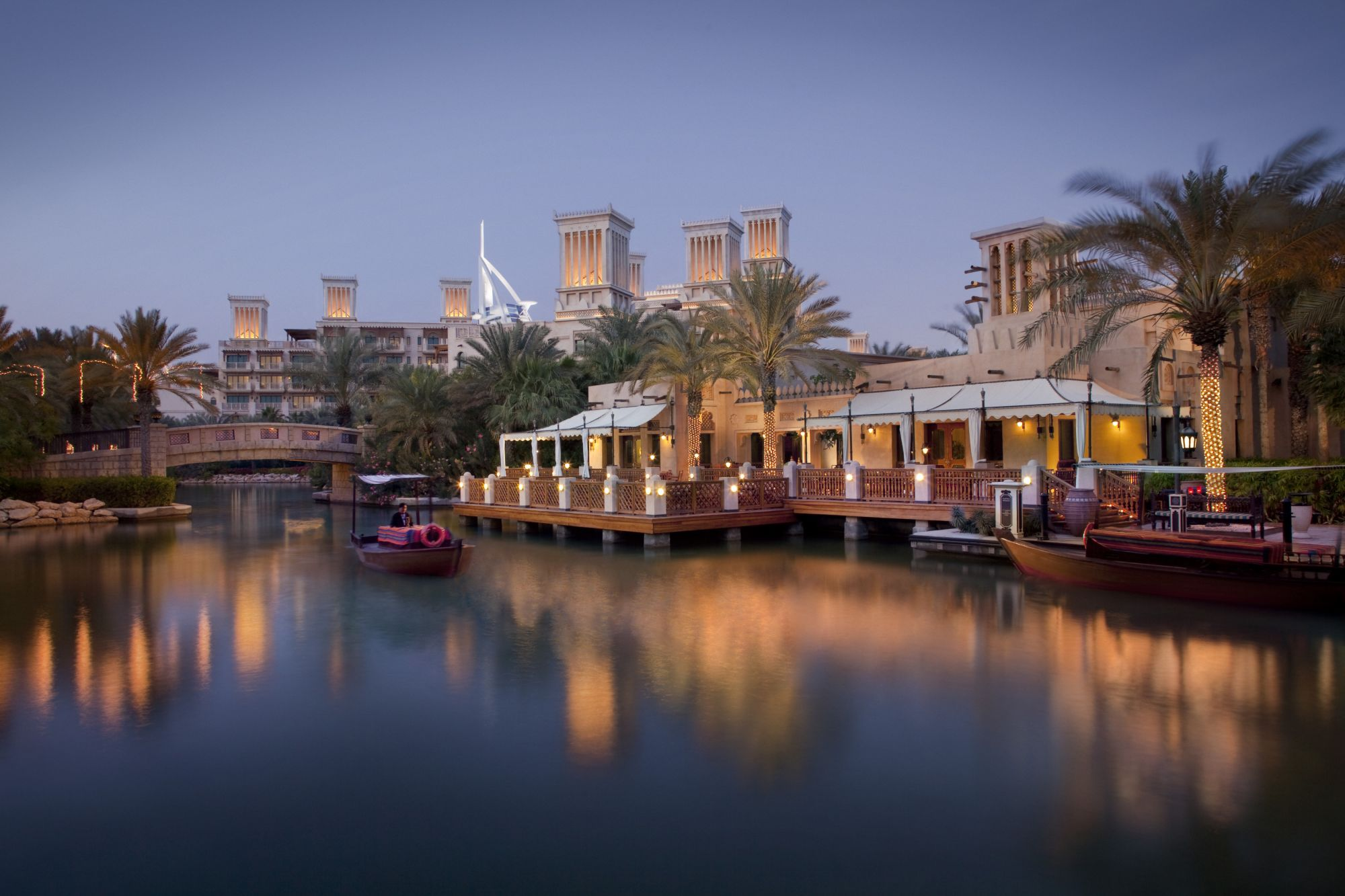 Madinat Jumeirah - Pai Thai - Terrace and Waterway