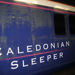 Caledonian Sleeper. Glasgow to London.