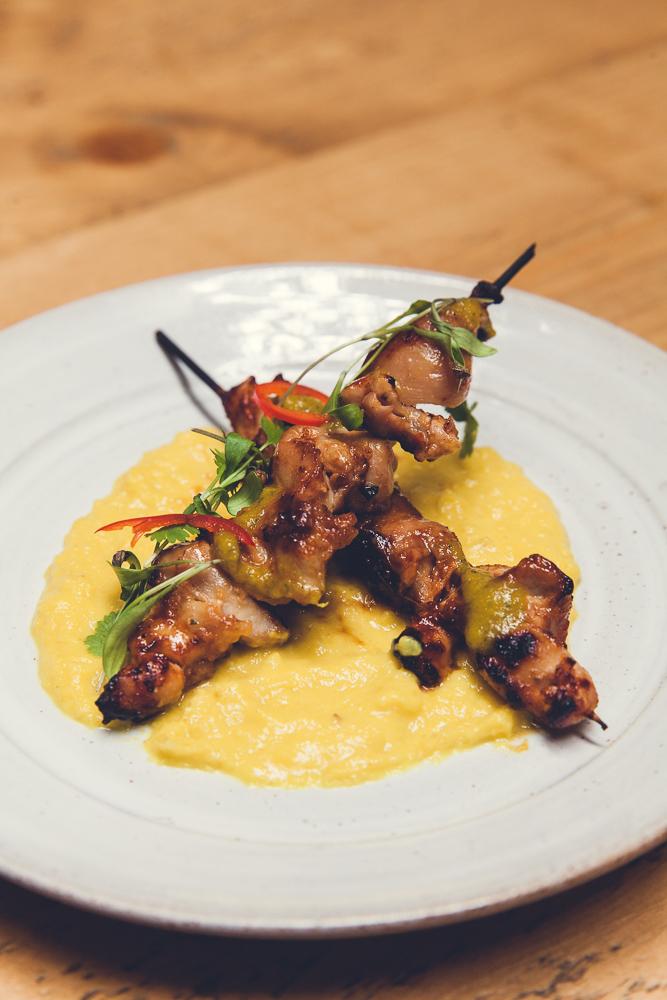 Chicken anticuchos-Pachamama