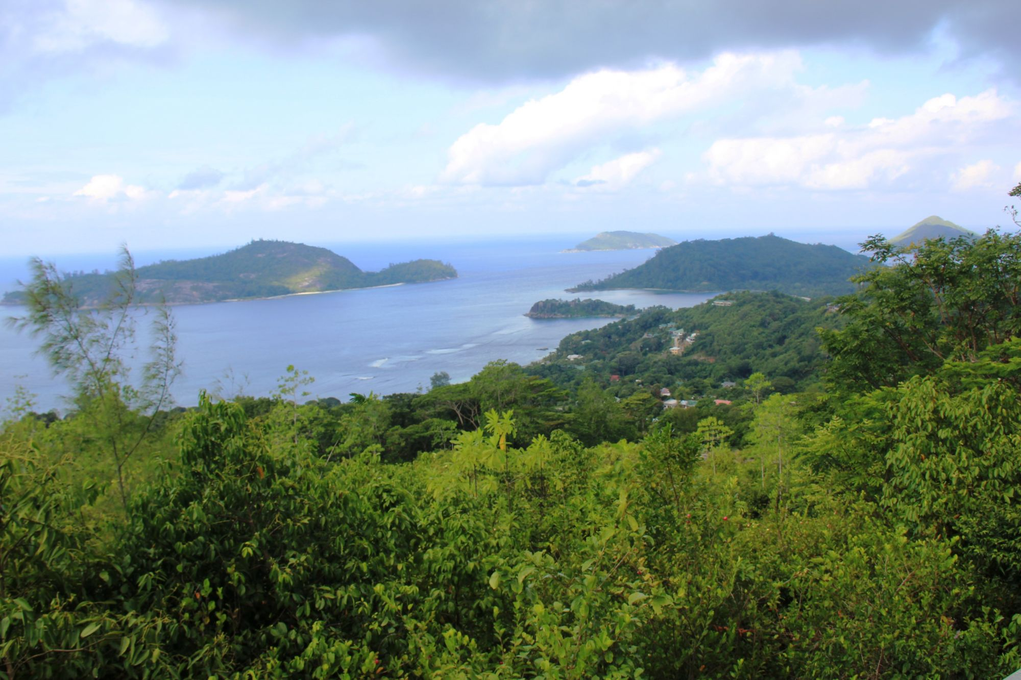 Seychelles Mountain view
