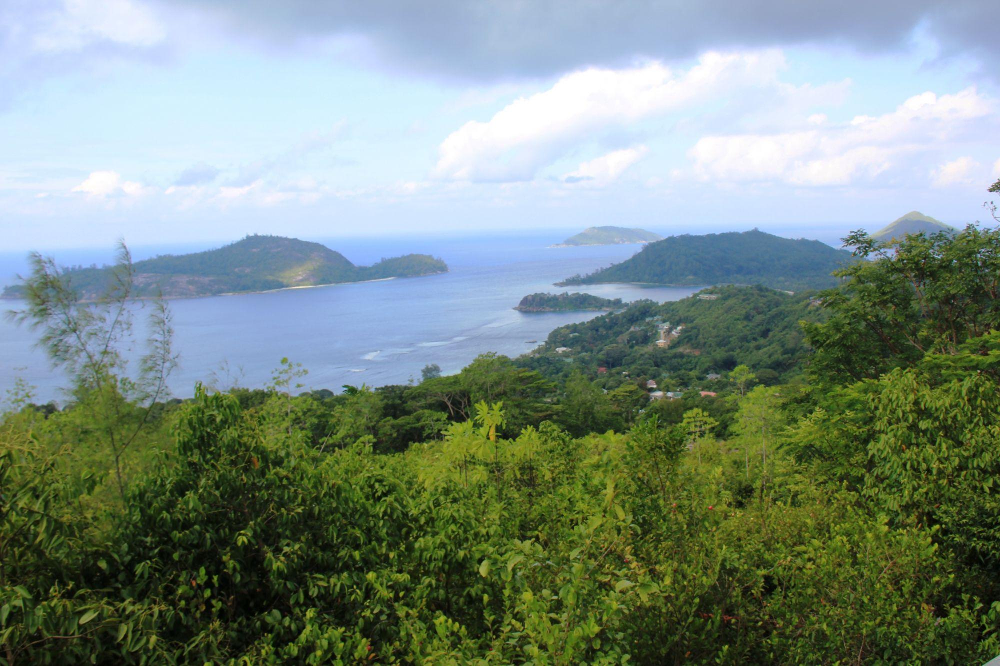 Seychelles Mountain view