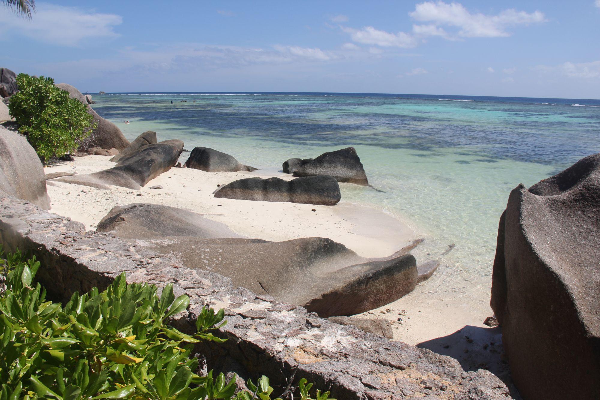 Seychelles anse source beach