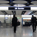 Exit checks on UK international borders