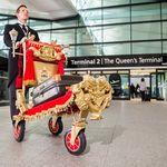 Heathrow terminal 2 gets royally trollied