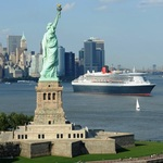 New York on the Queen Mary 2