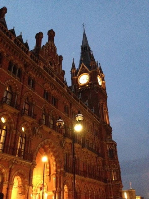 St. Pancras clock tower