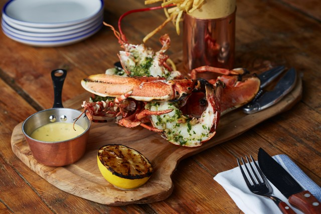 Lobster at West Thirty Six