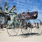 Burning Man Festival. Nevada