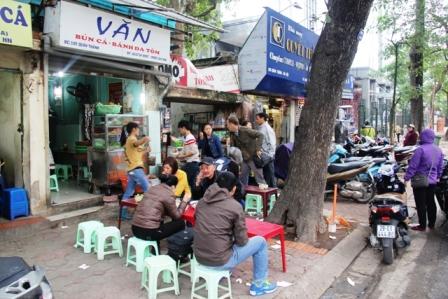 Van street food Hanoi