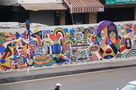 hanoi mural