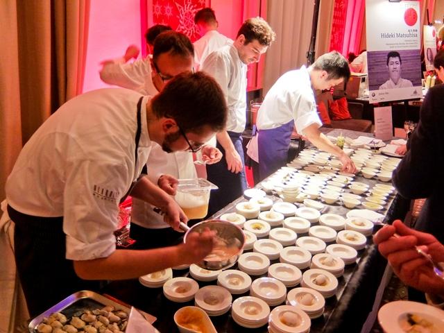 Chefs Preparing Tapas