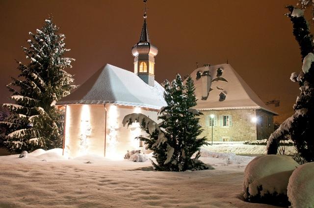La chapelle du hameau Le Bérouze