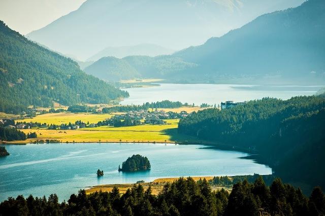 Waldhaus and Lakes