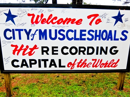 Muscle Shoals Sign