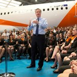 David Cameron speech about EU Referendum at easyJet