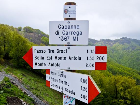 Sign Capanne di Cosola