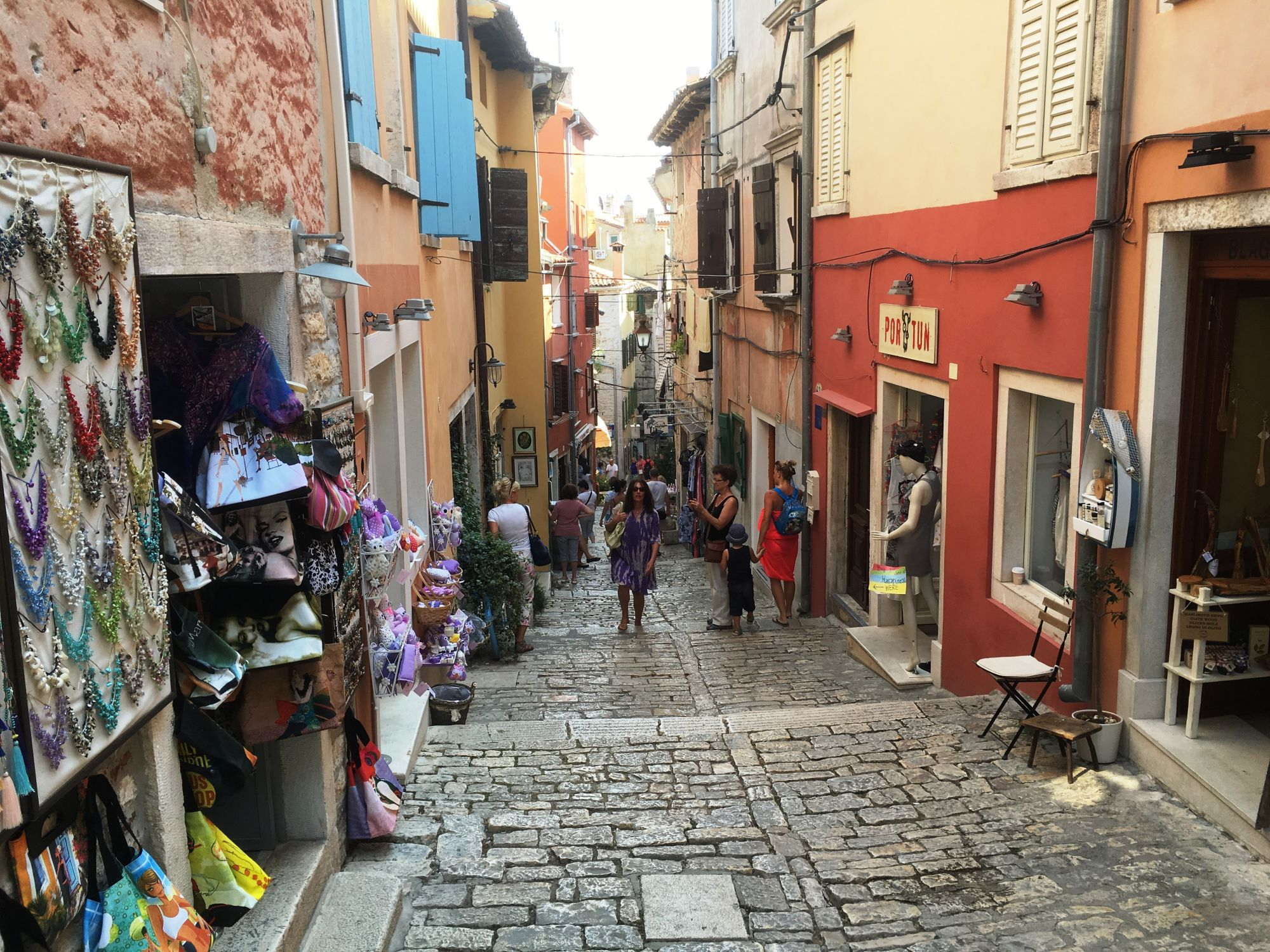 Rovinj Old Town street (c) Andy Mossack