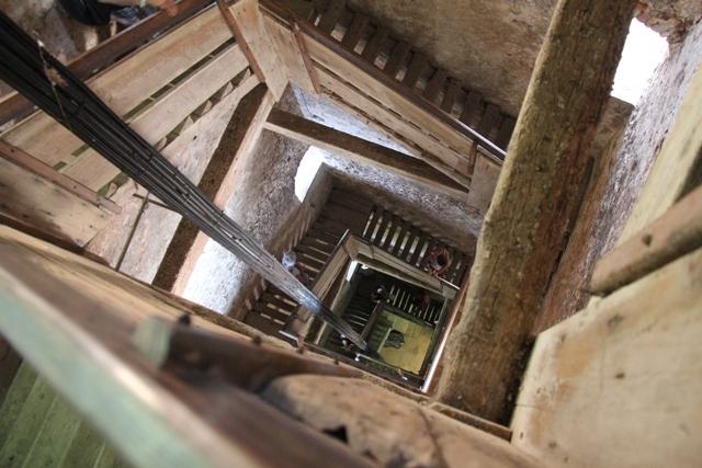 Church of St Euphemia Bell Tower Stairs Rovinj (c) Andy Mossack