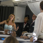 Katherine Jenkins and the Bolshoi perform a BA air ballet