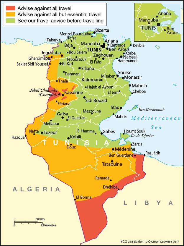 FCO Lifts travel warning against Tunisia TripReporter
