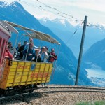 Travelling the Bernina Express
