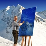 The Mountain Art Of Adam Attew, Austria