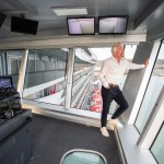 Sir Richard Branson launches new luxury Virgin Voyages ship