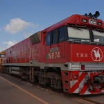 Riding the legendary Ghan from Adelaide to Darwin