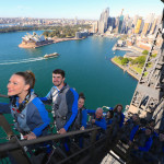 Climbing Sydney Harbour Bridge